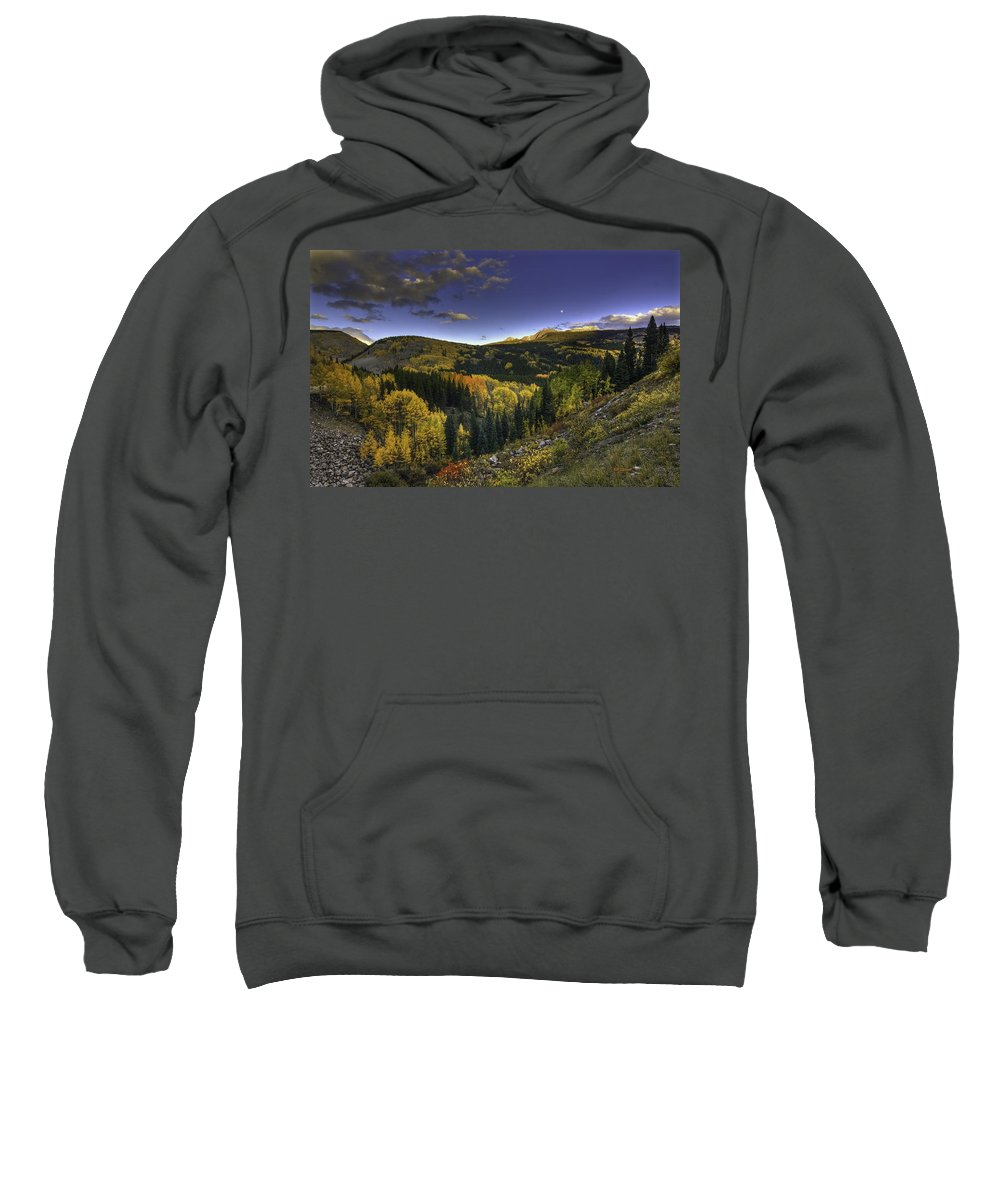 Landscape Sweatshirt featuring the photograph Morning Delight by Bill Sherrell