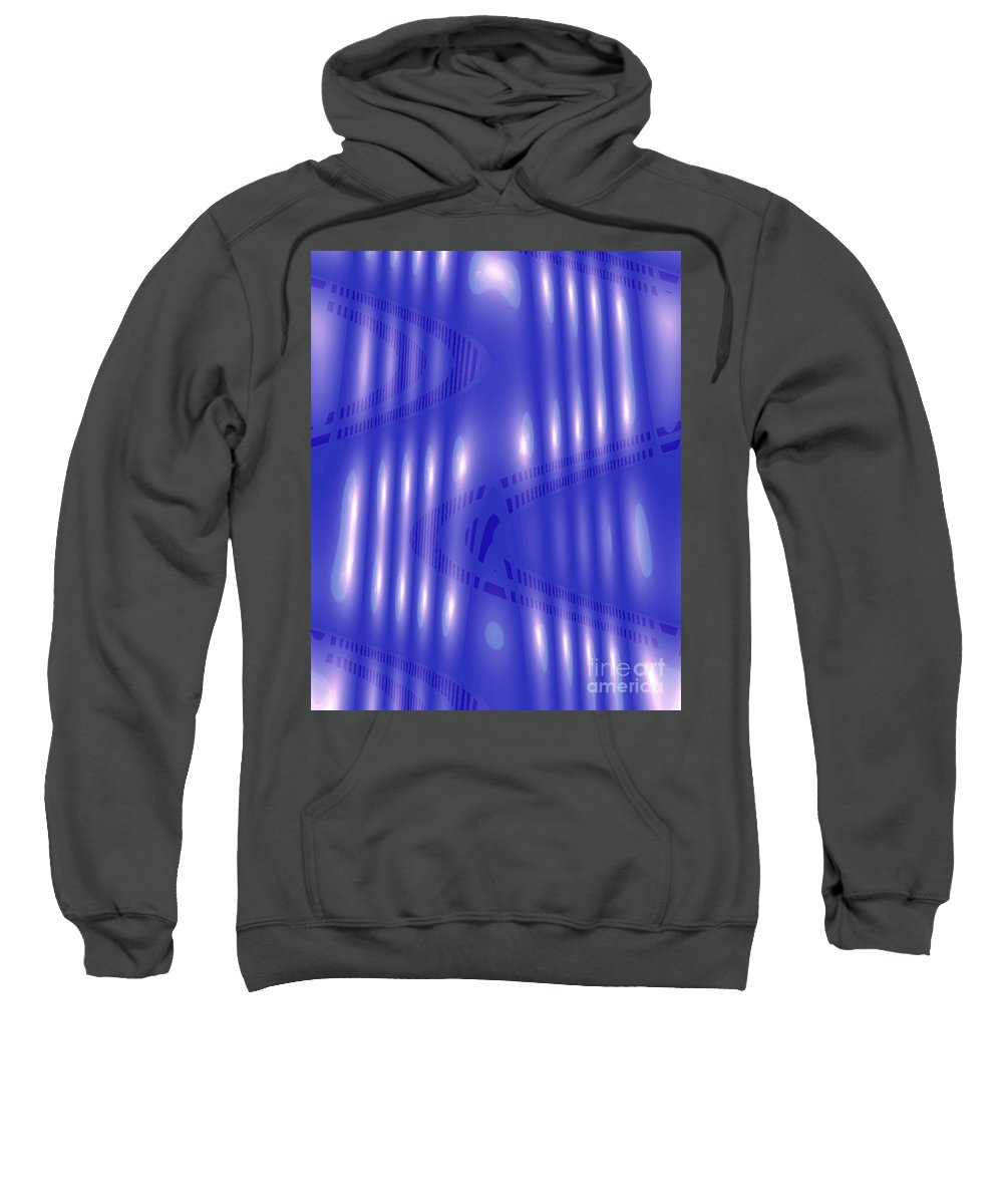 Omnetra Moveonart Radventure Sweatshirt featuring the digital art Omnetra Moveonart Radventure by Jacob Kanduch