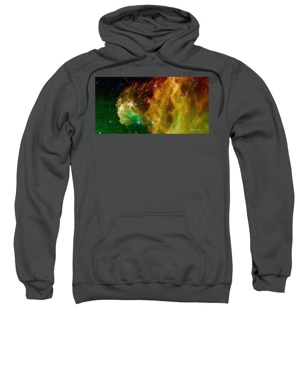 Orion Nebula Sweatshirt featuring the photograph Orion-nebula by Ericamaxine Price