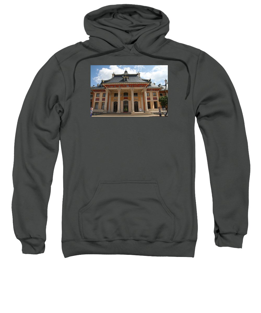 Palace Sweatshirt featuring the photograph Palace Pillnitz by Christiane Schulze Art And Photography
