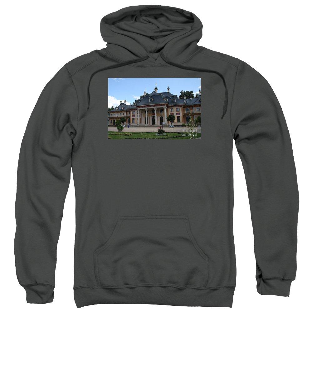 Palace Sweatshirt featuring the photograph Palace Pillnitz Germany by Christiane Schulze Art And Photography
