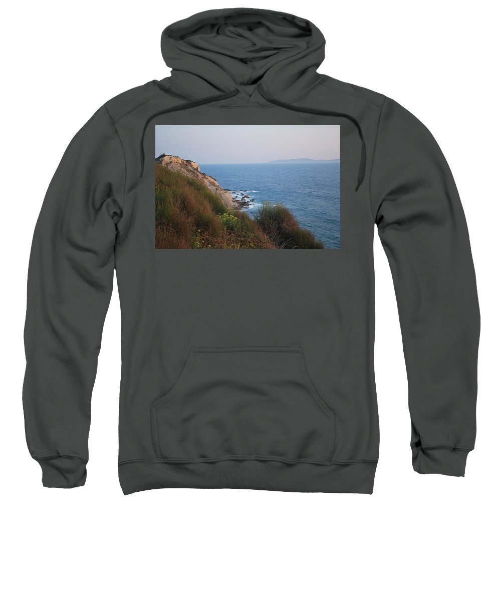 Rocks Sweatshirt featuring the photograph Rocks by George Katechis