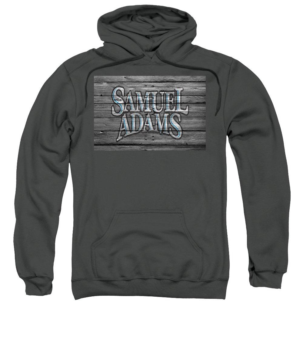 Samuel Adams Sweatshirt featuring the photograph Samuel Adams by Joe Hamilton