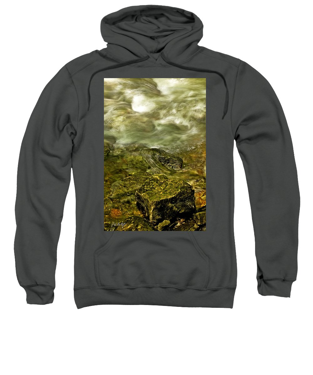 Photographic Images Sweatshirt featuring the photograph Shoreline by Phill Doherty