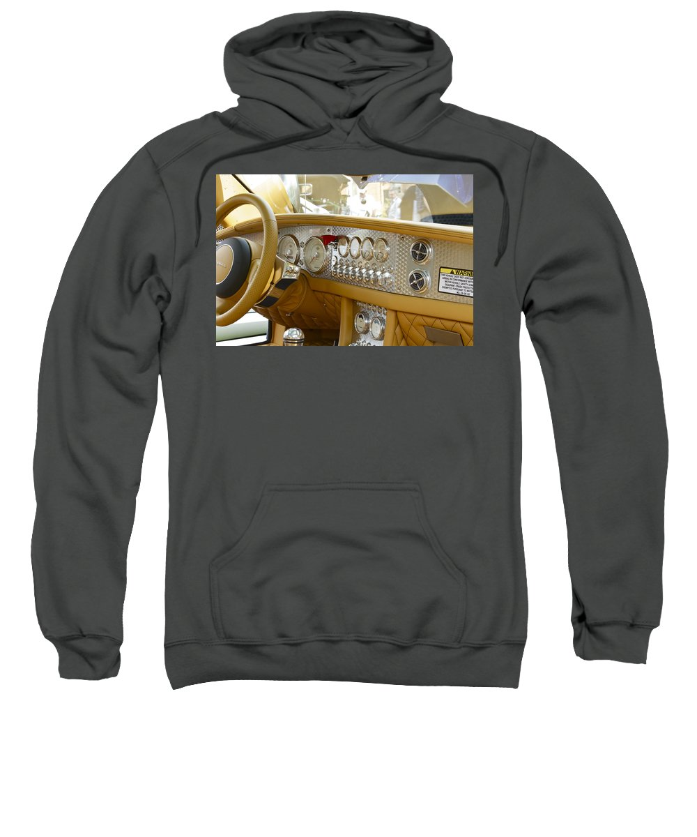 Antique Sweatshirt featuring the photograph Spyker by Jack R Perry