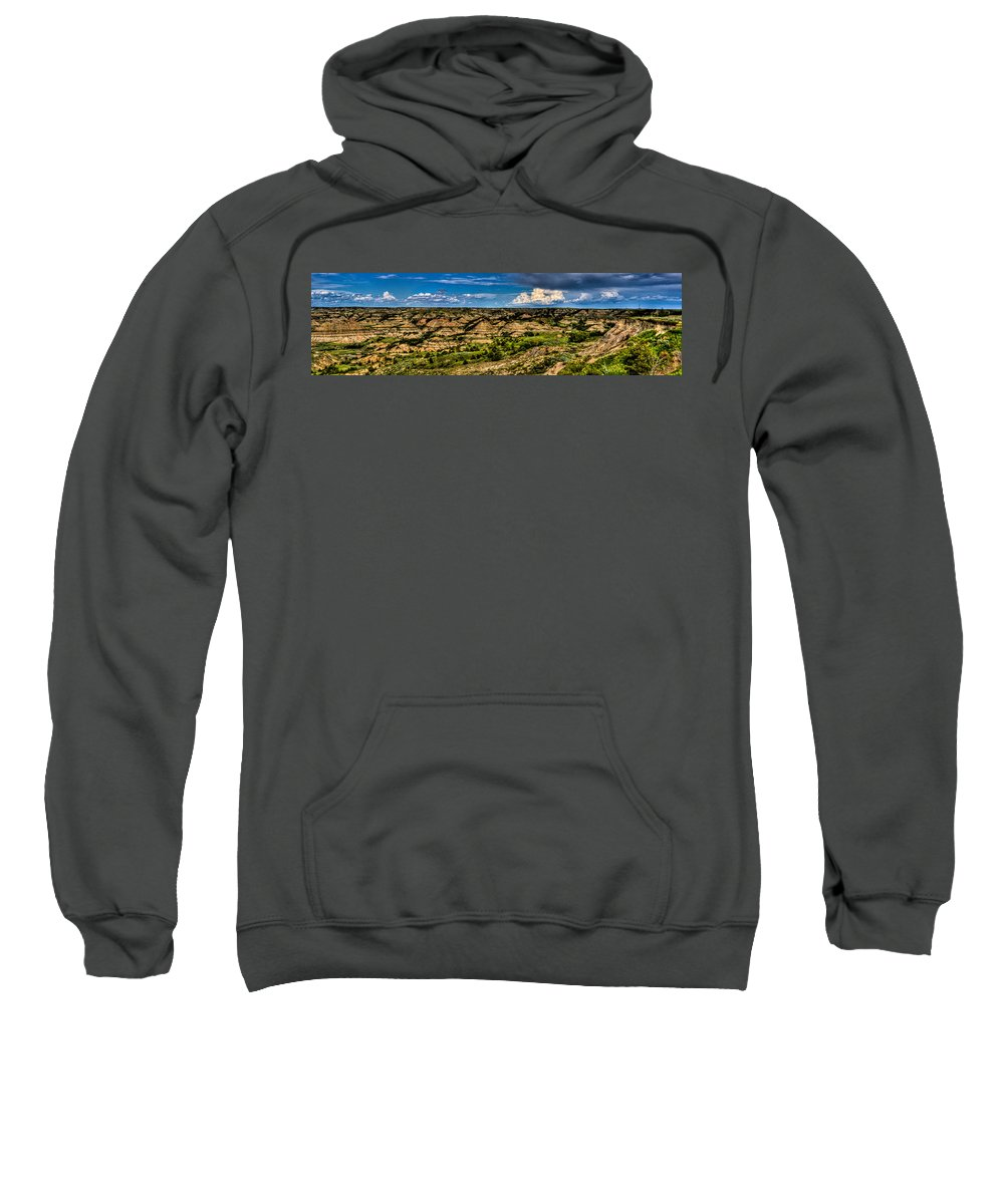 Wide Sweatshirt featuring the photograph The Painted Hills by Jonny D