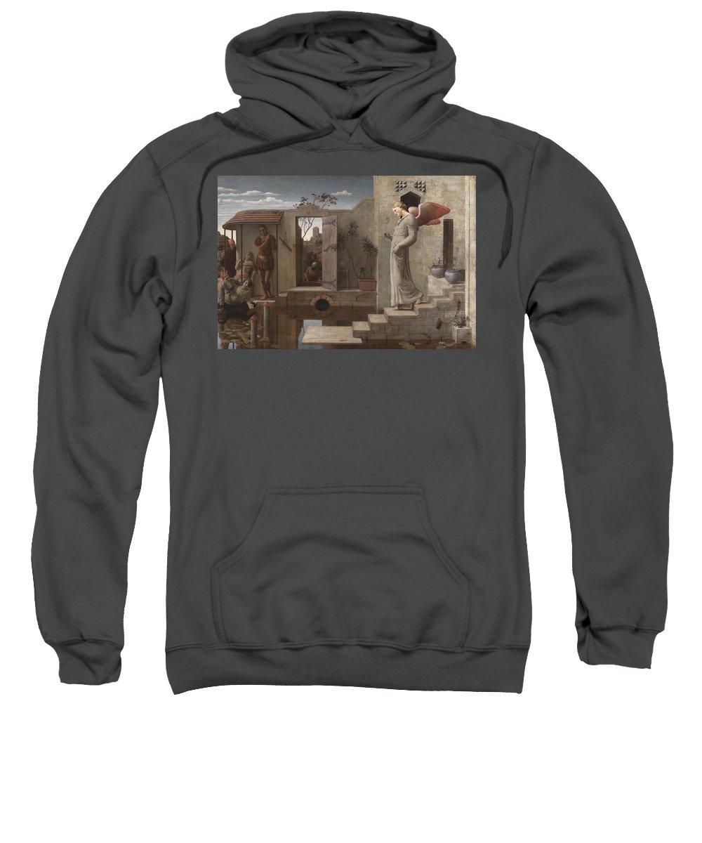 Robert Bateman Sweatshirt featuring the painting The Pool Of Bethesda by Robert Bateman