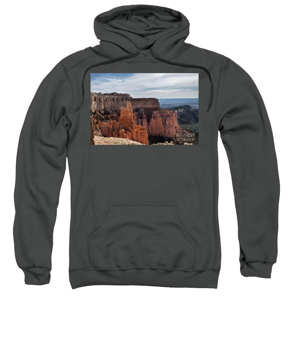 Brown Sweatshirt featuring the photograph Weathered By Time by Rich Priest