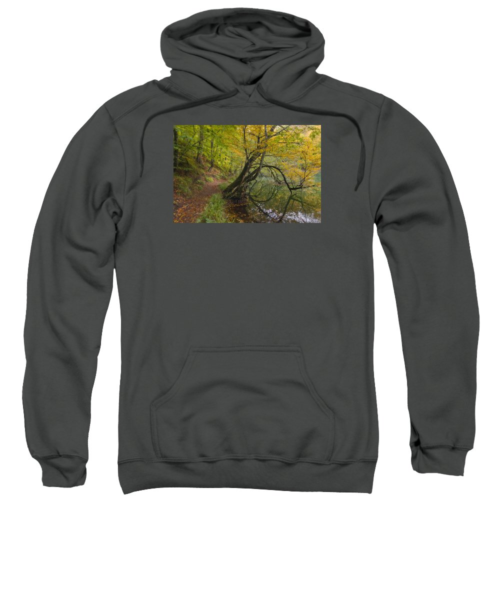 Anatolia Sweatshirt featuring the photograph Fall Colours by Ayhan Altun