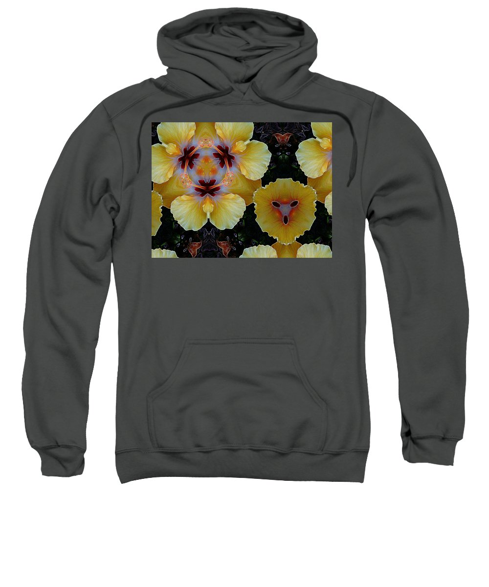 Flower Sweatshirt featuring the photograph 1750 by John Holfinger