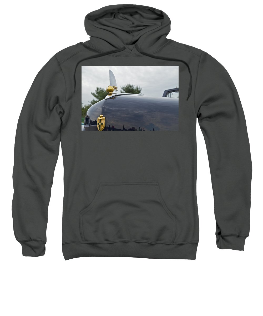 Glenmoor Sweatshirt featuring the photograph 1942 Lincoln by Jack R Perry