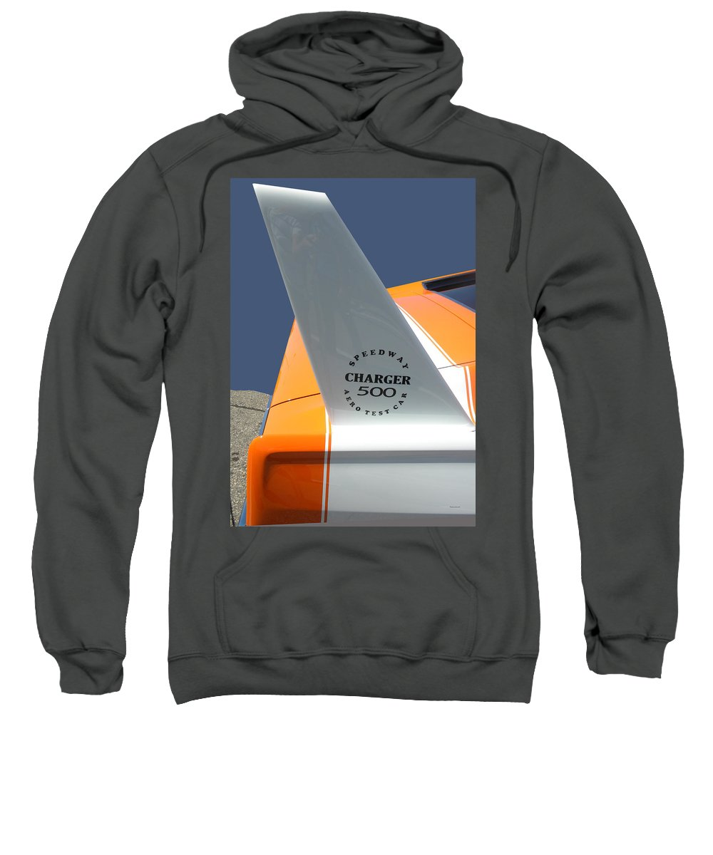 Chrysler Sweatshirt featuring the photograph 1967 Dodge Charger 01 by Thomas Woolworth