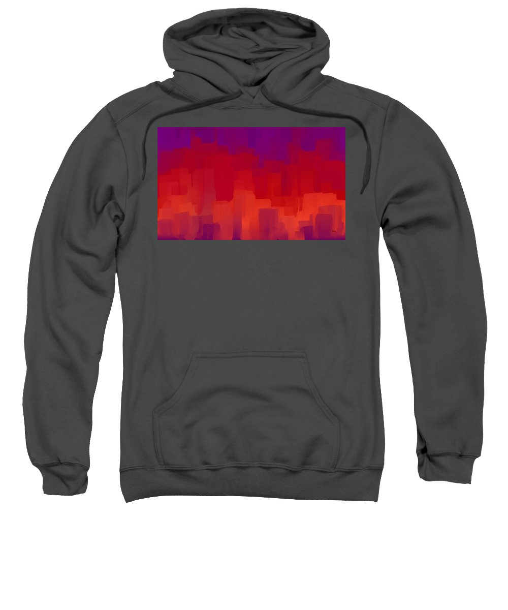 Sweatshirt featuring the digital art 1998045 by Studio Pixelskizm