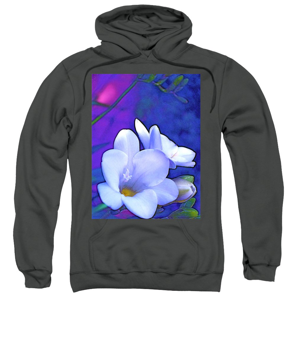 Flowers Sweatshirt featuring the photograph Color 4 by Pamela Cooper