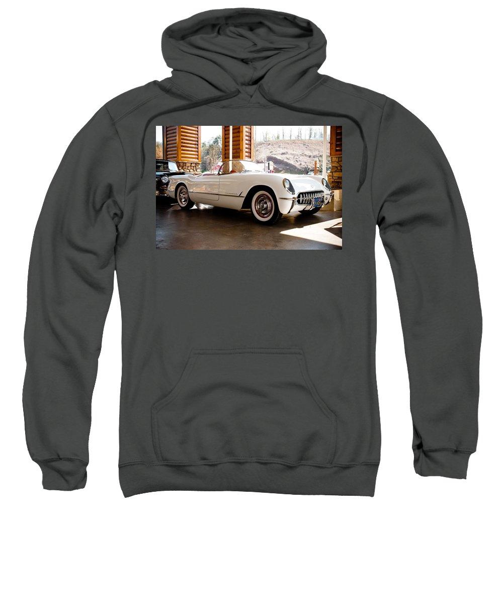 Corvette Sweatshirt featuring the photograph Corvette by Robert L Jackson
