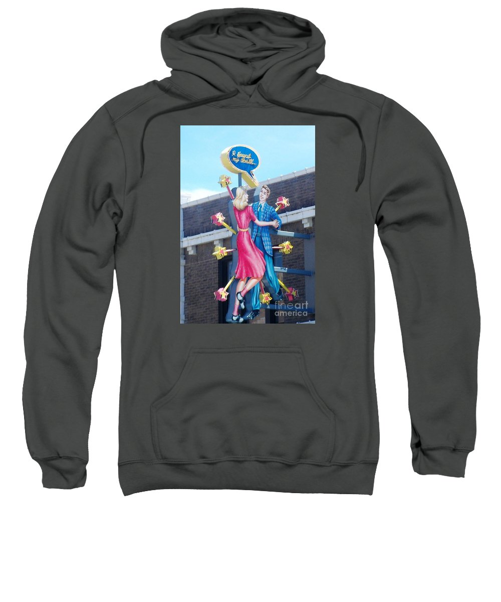 Blueberry Hill Sweatshirt featuring the photograph I Found My Thrill by Kelly Awad