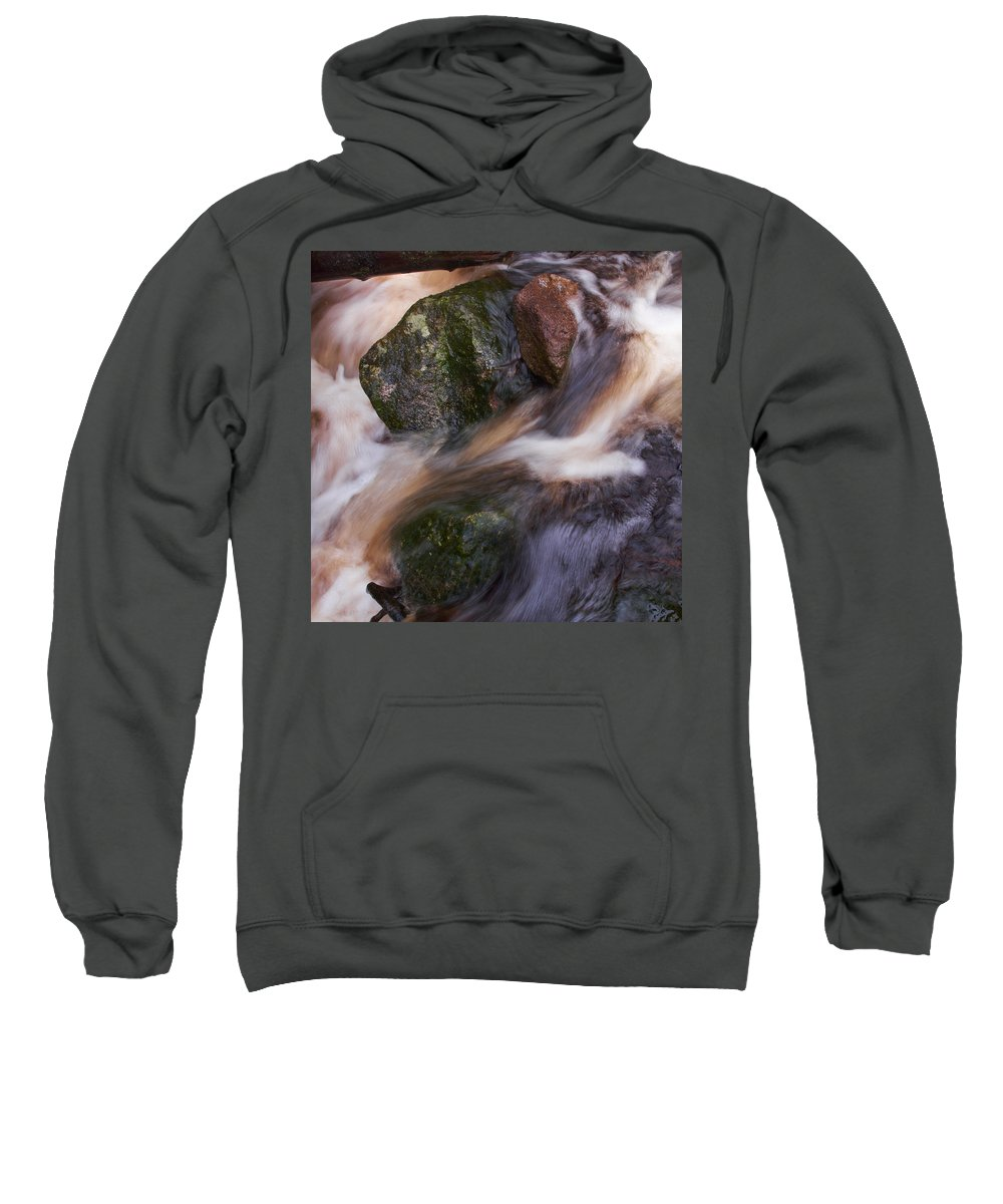 Liesijoki Sweatshirt featuring the photograph Old Mill Canal by Jouko Lehto