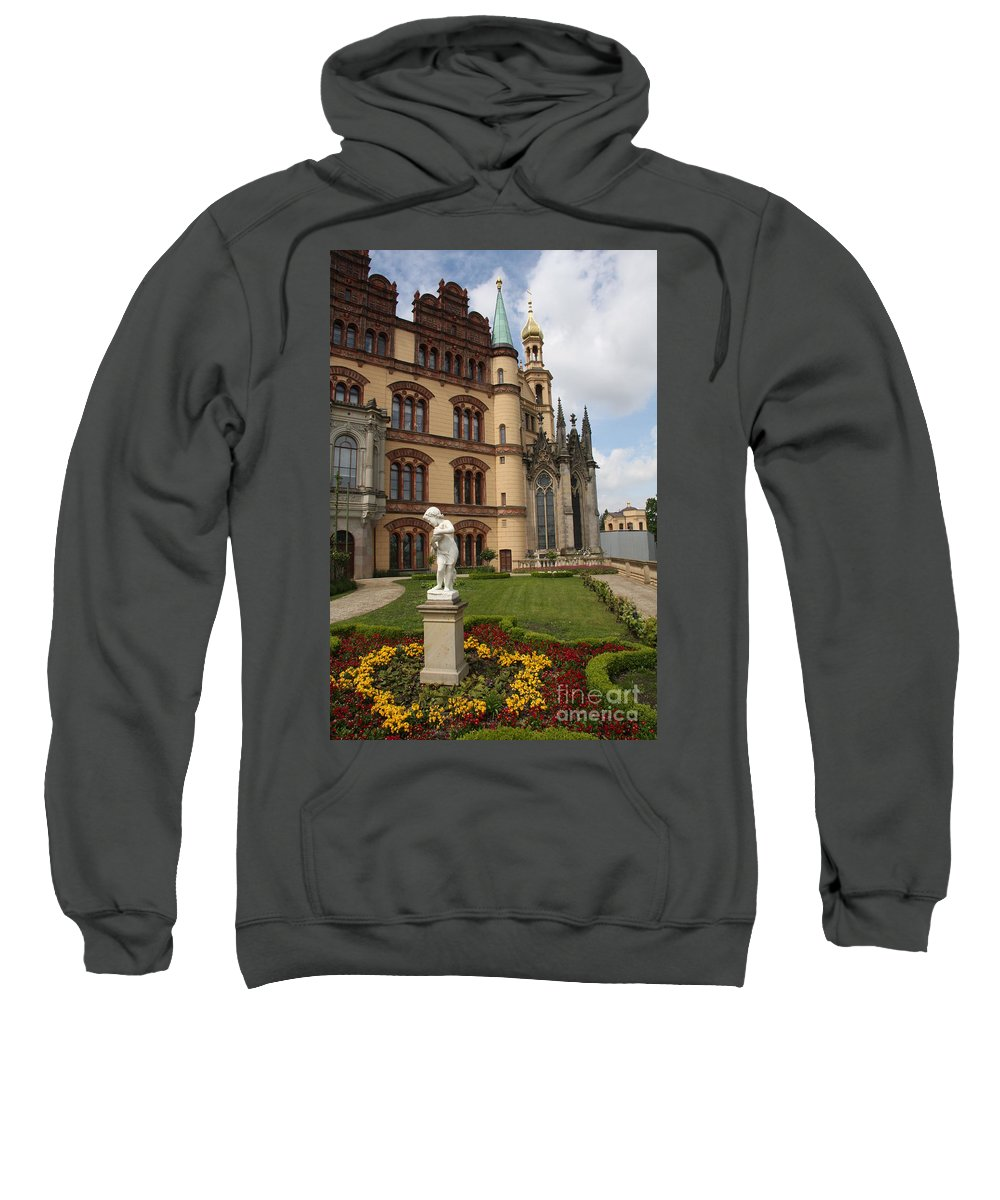 Schwerin Sweatshirt featuring the photograph Schwerin - Palace - Germany by Christiane Schulze Art And Photography
