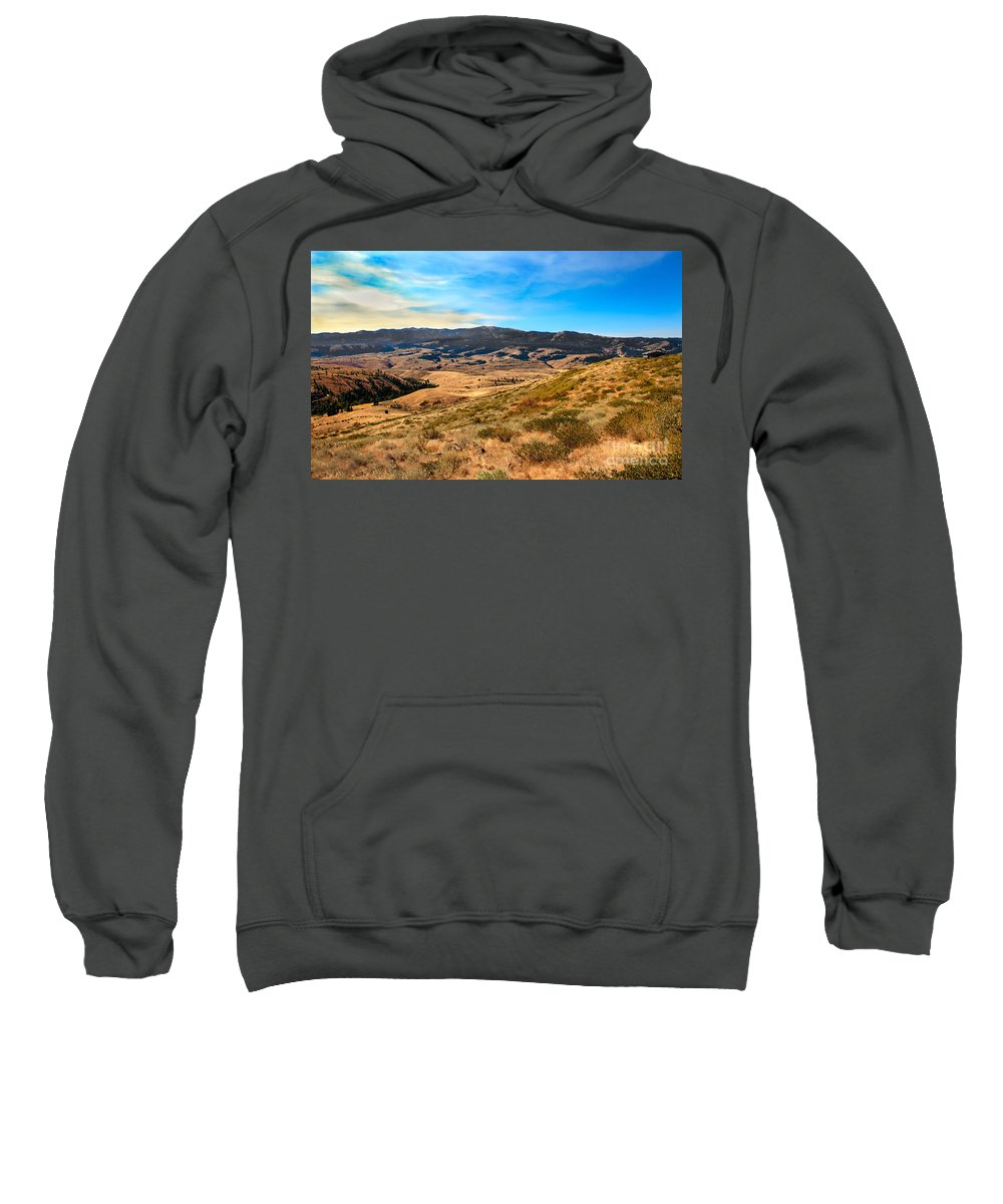 Landsacape Sweatshirt featuring the photograph Vast View by Robert Bales