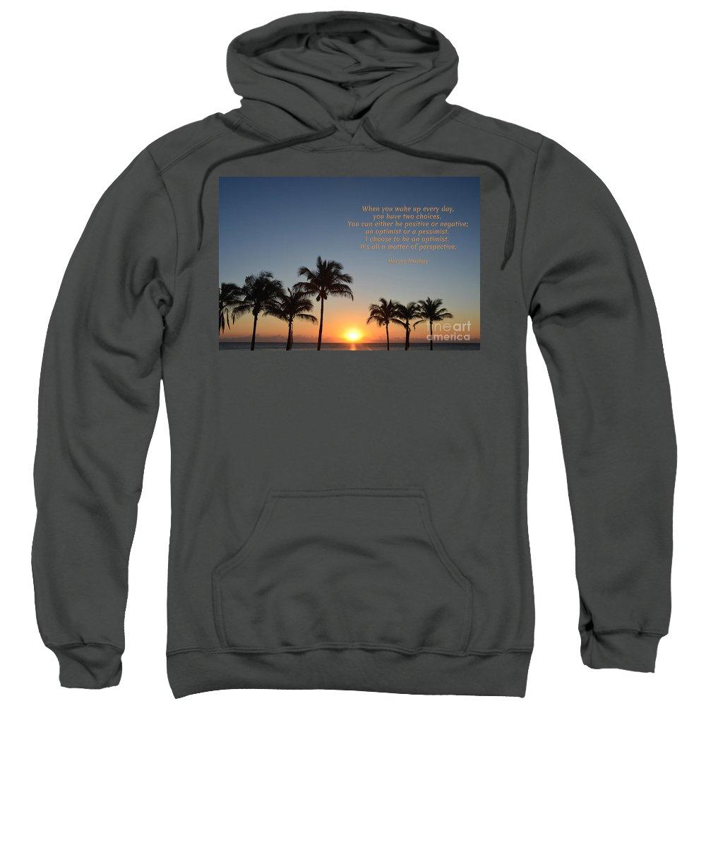 Harvey Mackay Sweatshirt featuring the photograph 207- Harvey Mackay by Joseph Keane