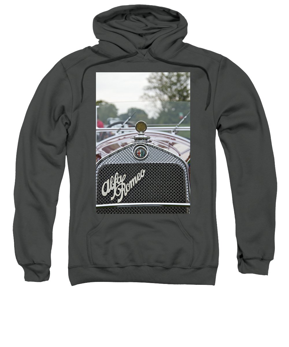 Antique Sweatshirt featuring the photograph 1931 Alfa Romeo by Jack R Perry