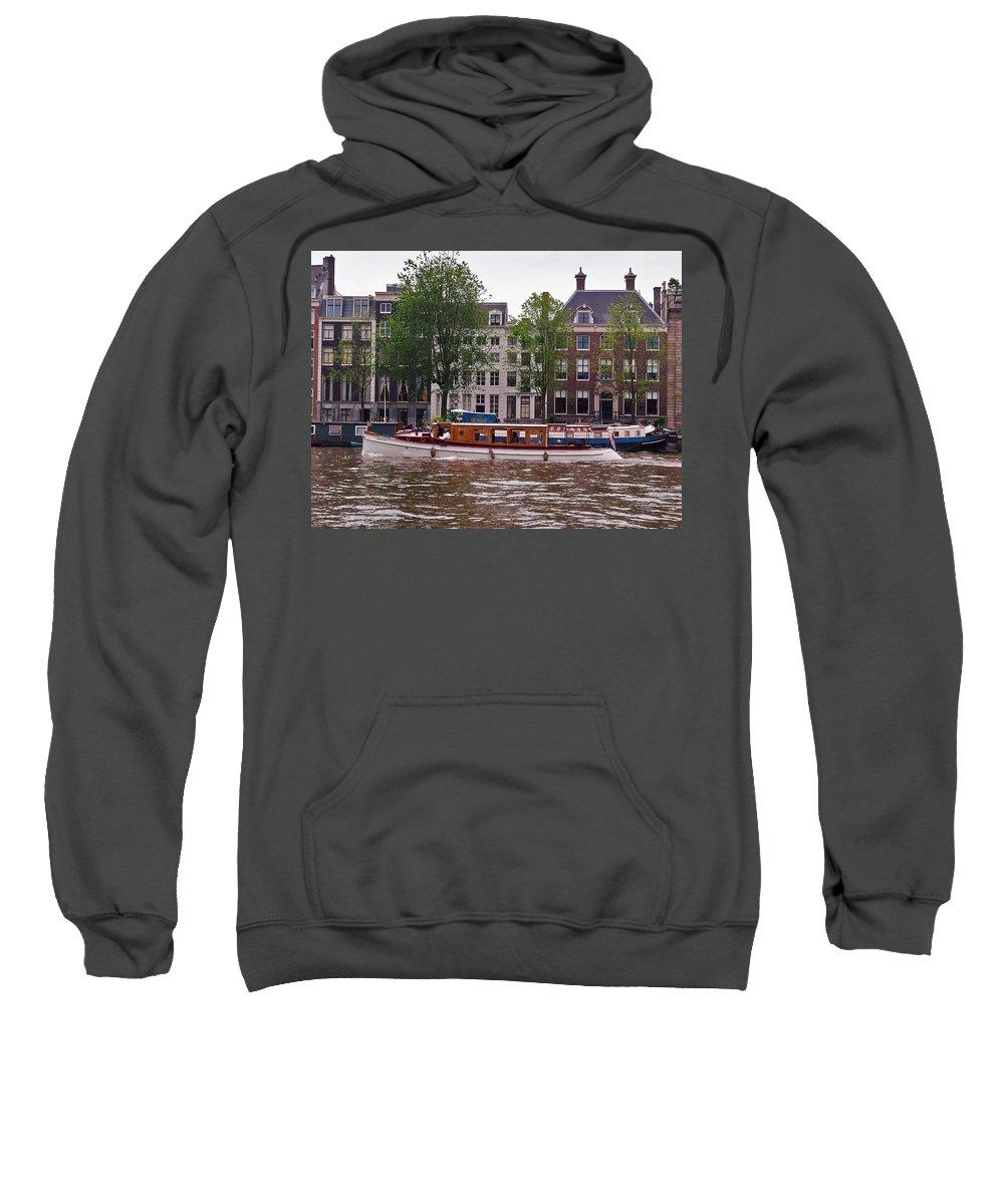 Alankomaat Sweatshirt featuring the photograph Amsterdam by Jouko Lehto