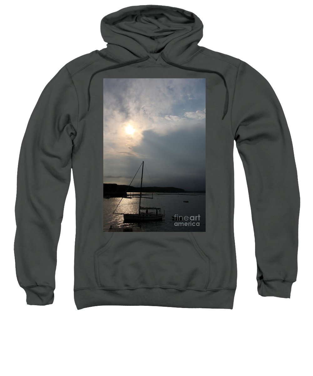 Evening Light Sweatshirt featuring the photograph Days End by Christiane Schulze Art And Photography