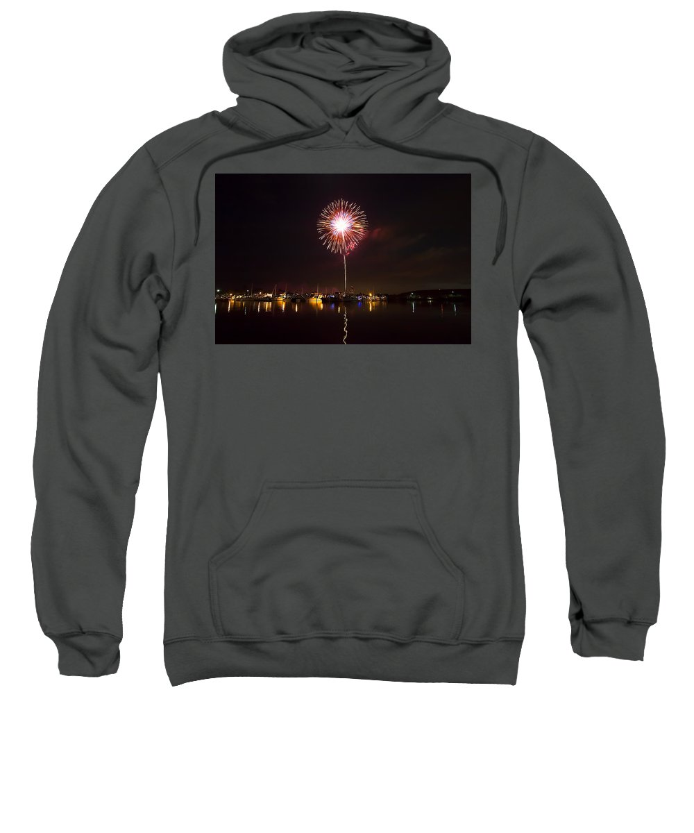 Forth Of July Sweatshirt featuring the photograph Fourth Of July by Manuel Lopez