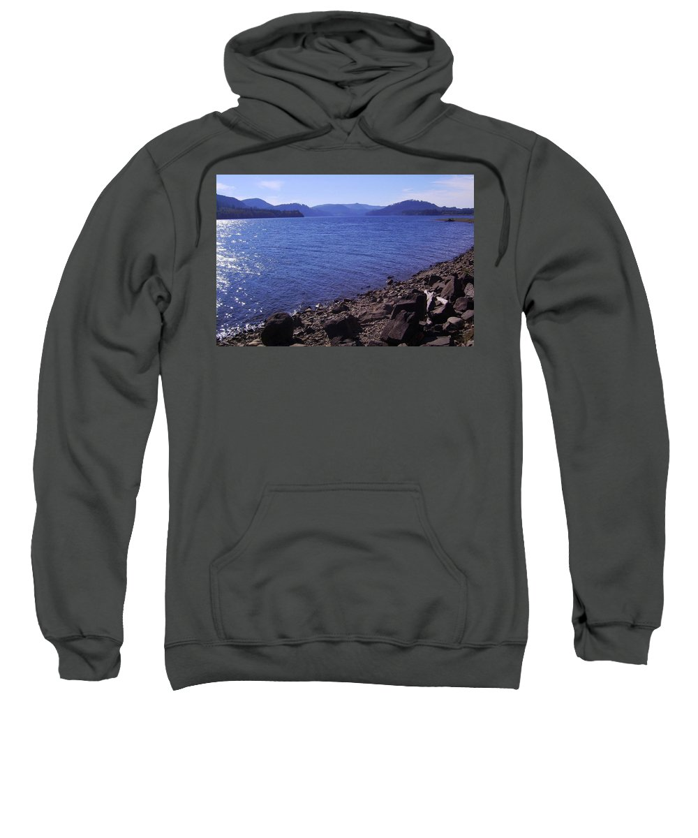 Bloom Sweatshirt featuring the photograph Lakes 2 by J D Owen
