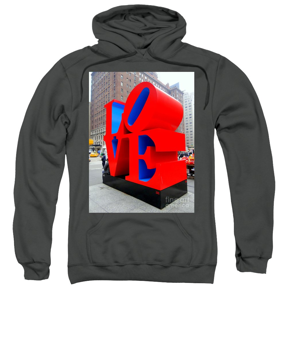 Love Sweatshirt featuring the photograph Love by Ed Weidman