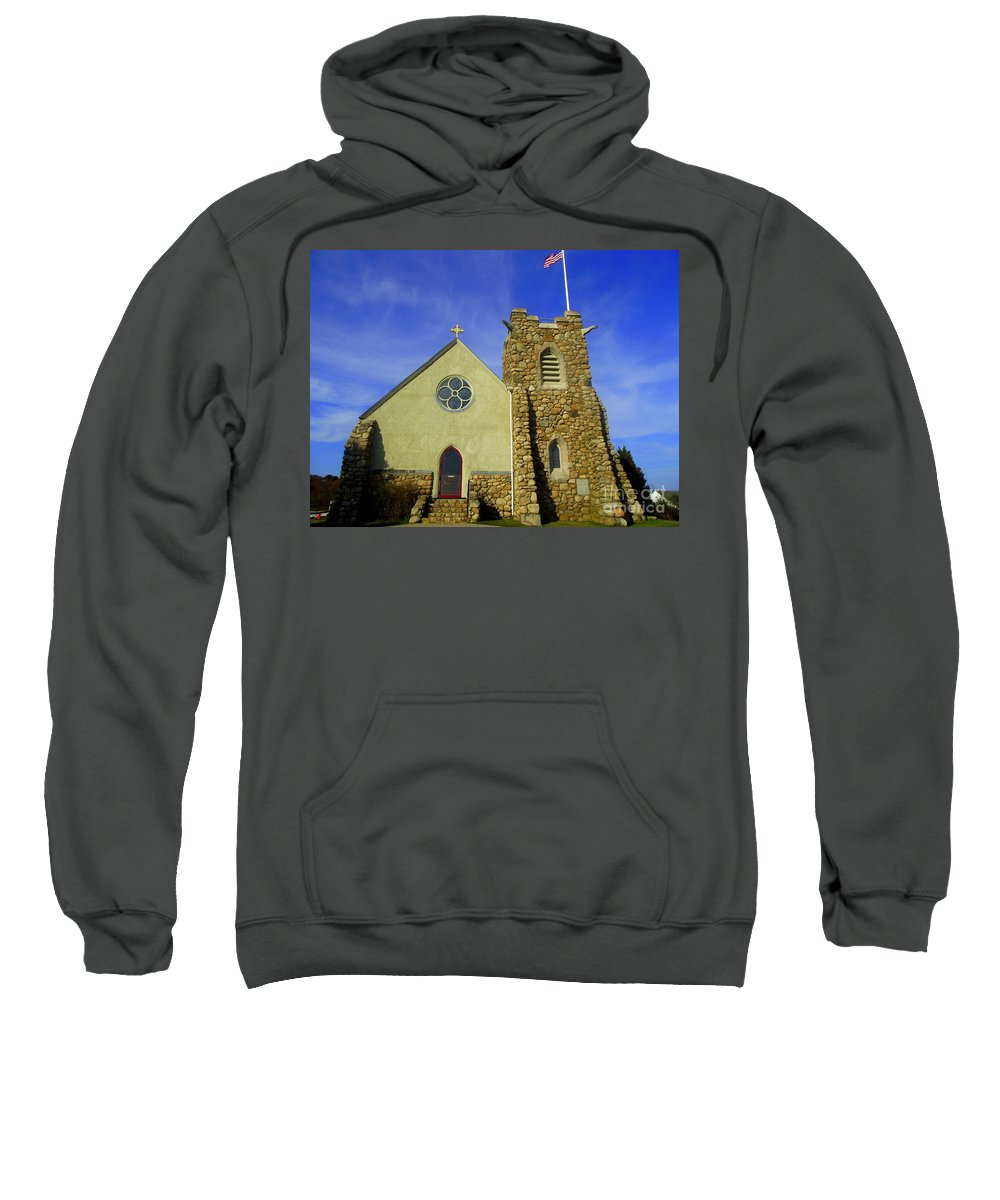 St. Andrews-by-the-sea Sweatshirt featuring the photograph St. Andrews-by-the-sea by CapeScapes Fine Art Photography