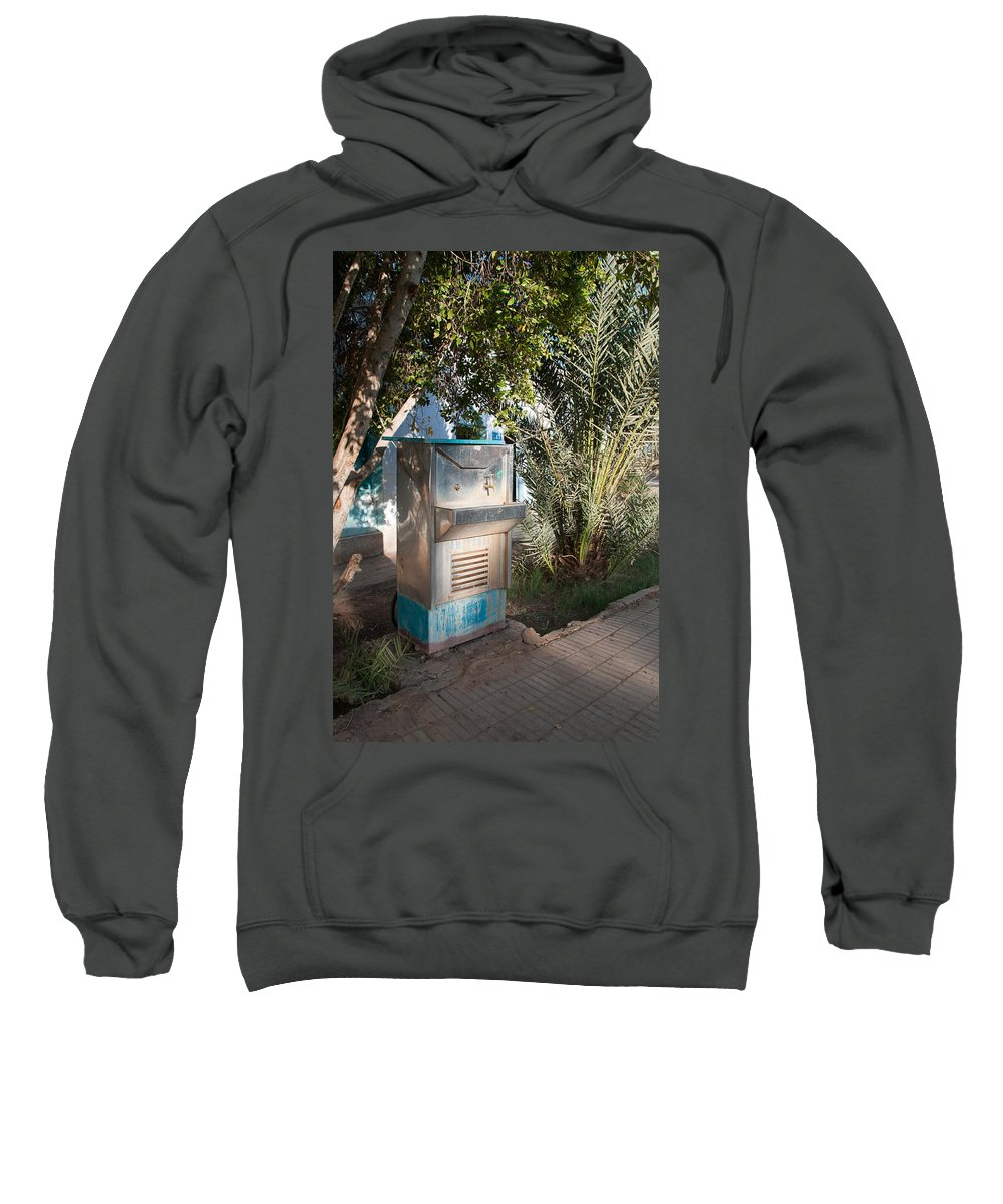 Drinking Water Sweatshirt featuring the digital art Dakhla by Carol Ailles