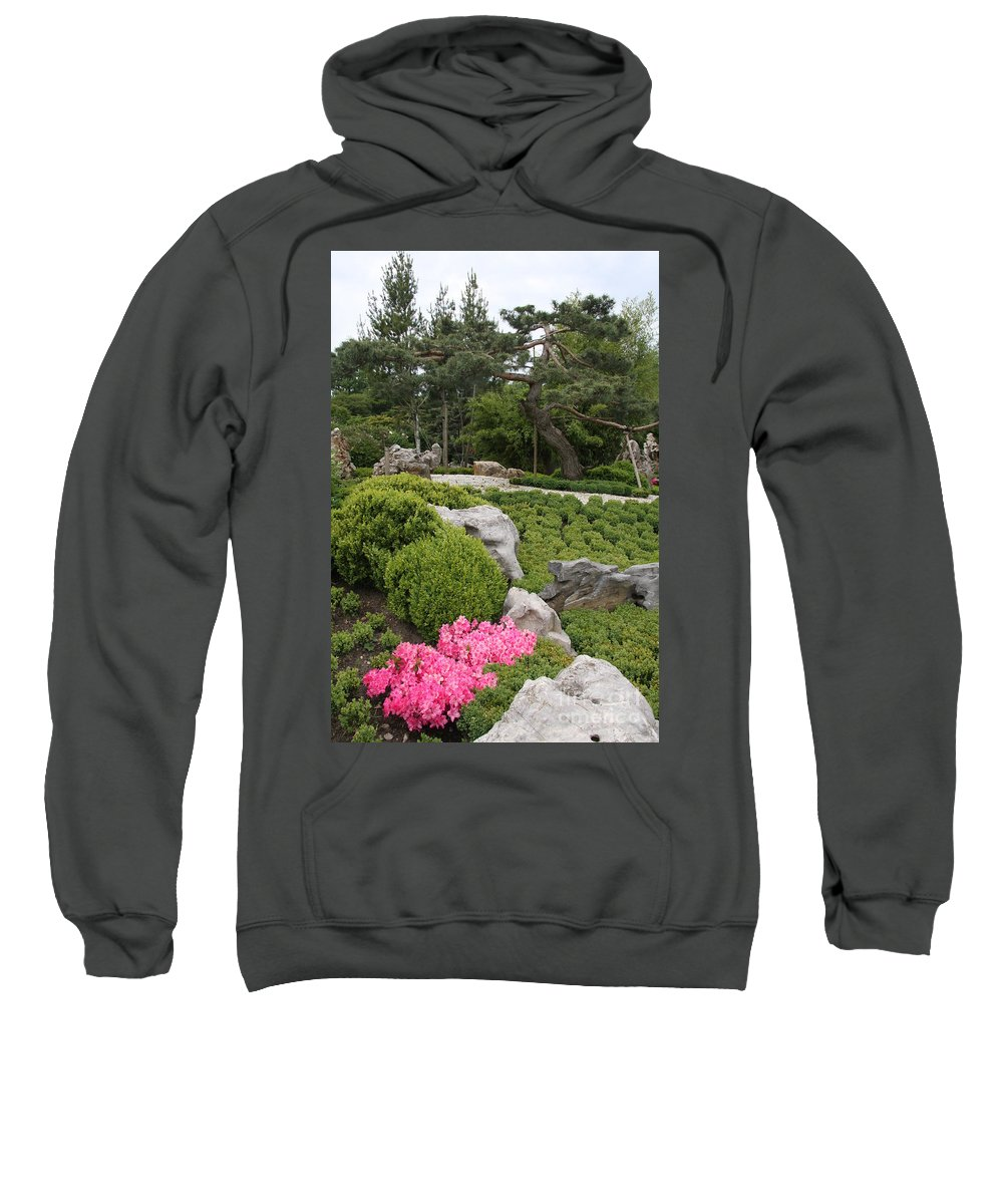 Park Sweatshirt featuring the photograph Springtime In The Park by Christiane Schulze Art And Photography