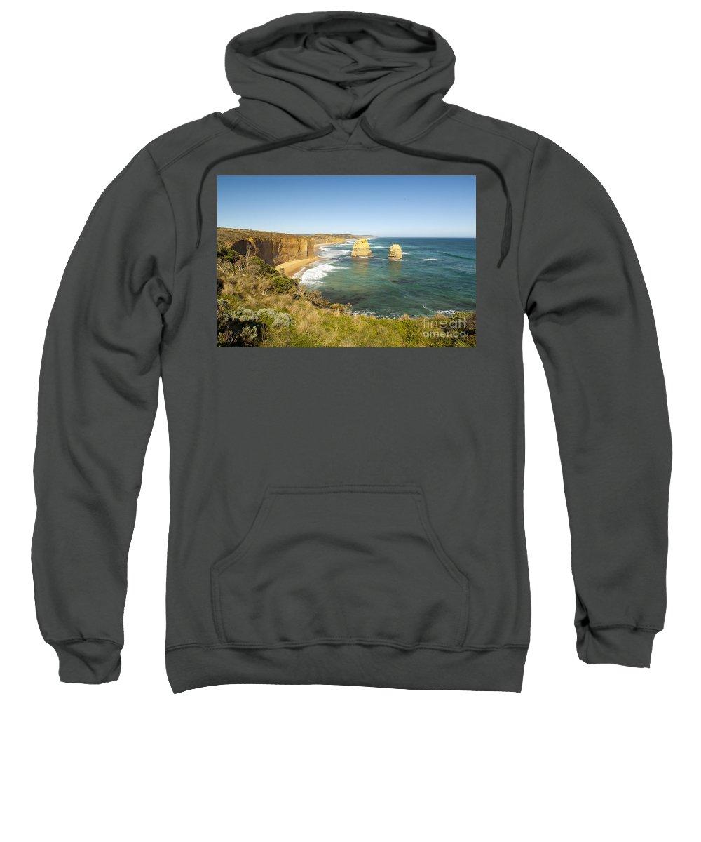 Australia Sweatshirt featuring the photograph Twelve Apostles by Tim Hester
