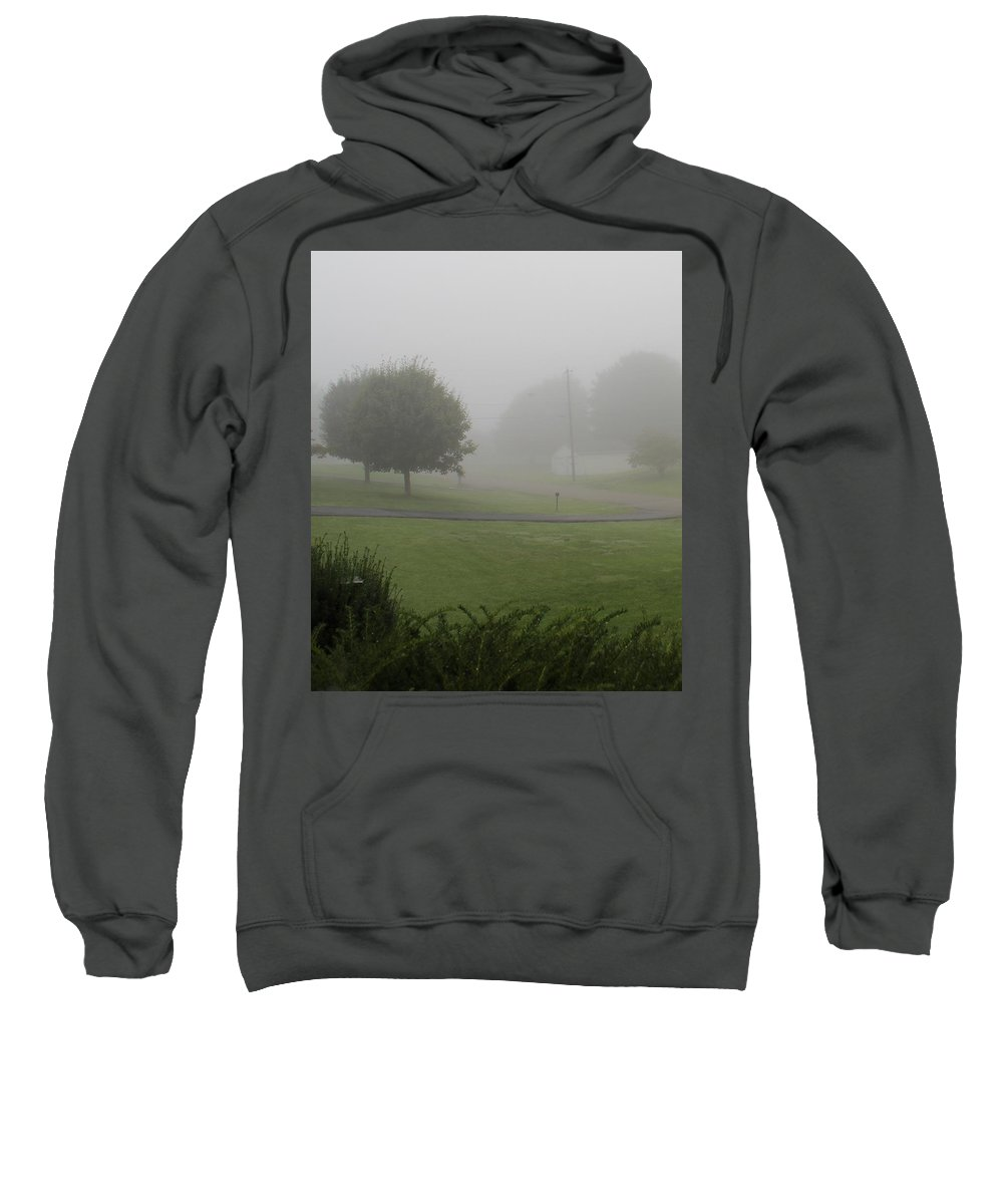 Misty Sweatshirt featuring the photograph 7 A M Fog by Kume Bryant