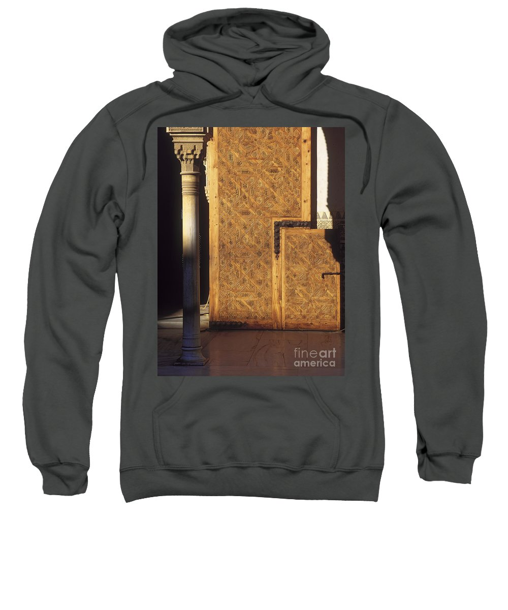 The Alhambra Sweatshirt featuring the photograph La Alhambra by Guido Montanes Castillo