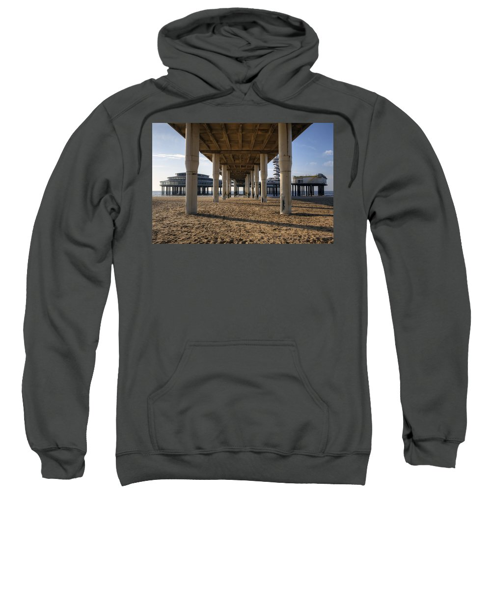 Scheveningen Sweatshirt featuring the photograph Scheveningen by Joana Kruse
