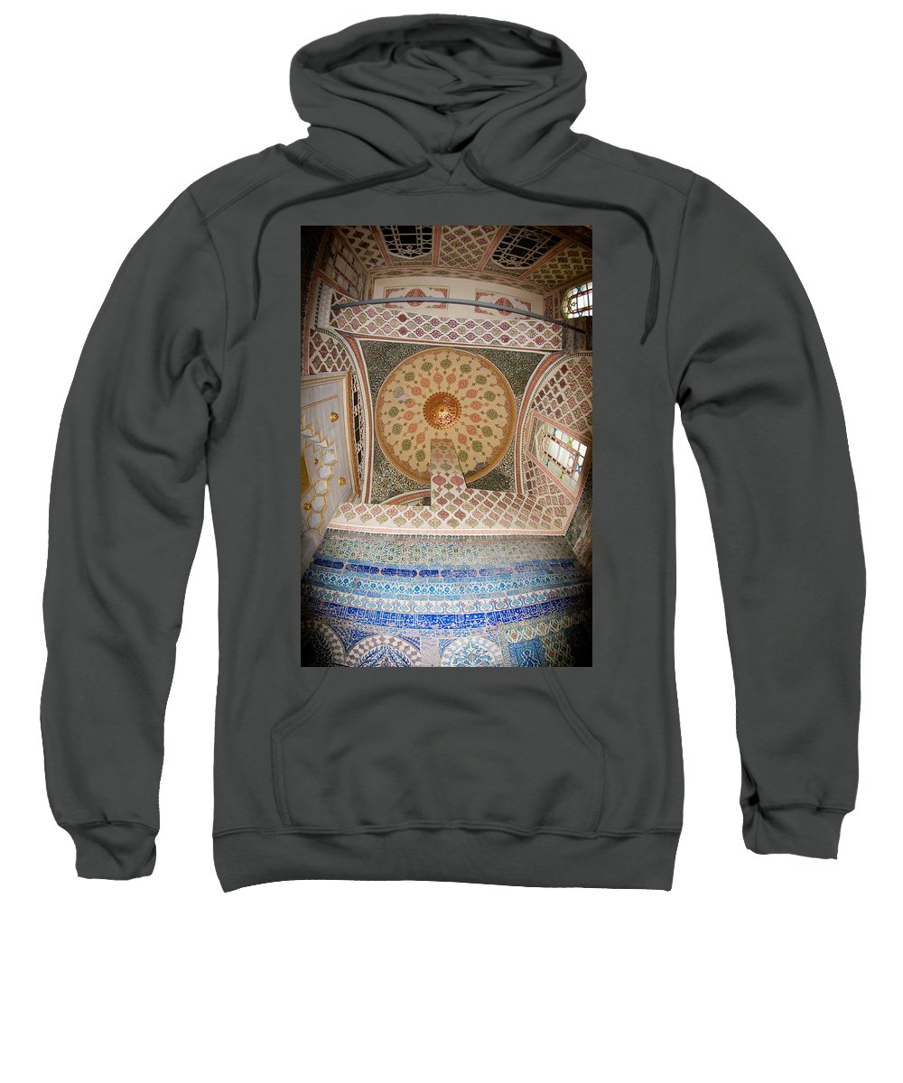 Topkapi Sarayi Palace Sweatshirt featuring the photograph Topkapi Sarayi Palace Istanbul Turkey by Dray Van Beeck