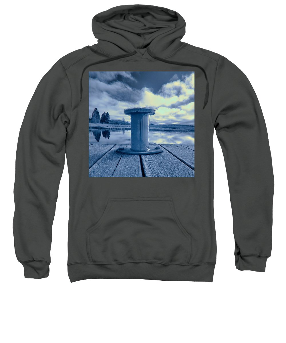 Finland Sweatshirt featuring the photograph Variations Of A Dock by Jouko Lehto