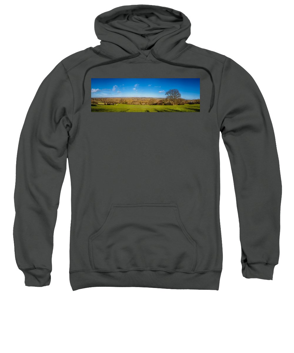 Avon Sweatshirt featuring the photograph Kennet And Avon Canal by Mark Llewellyn