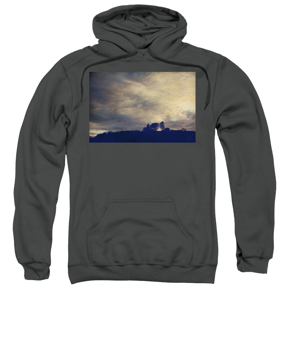 Sonora Sweatshirt featuring the photograph A Calm Sets In by Laurie Search