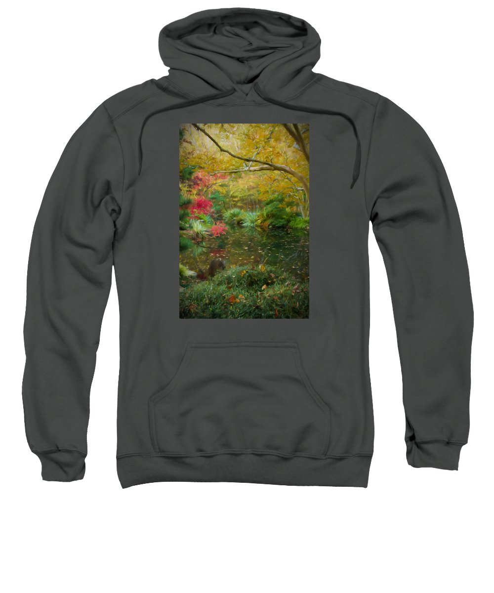 Decorative Artwork Sweatshirt featuring the photograph A Fall Afternoon by Mary Buck