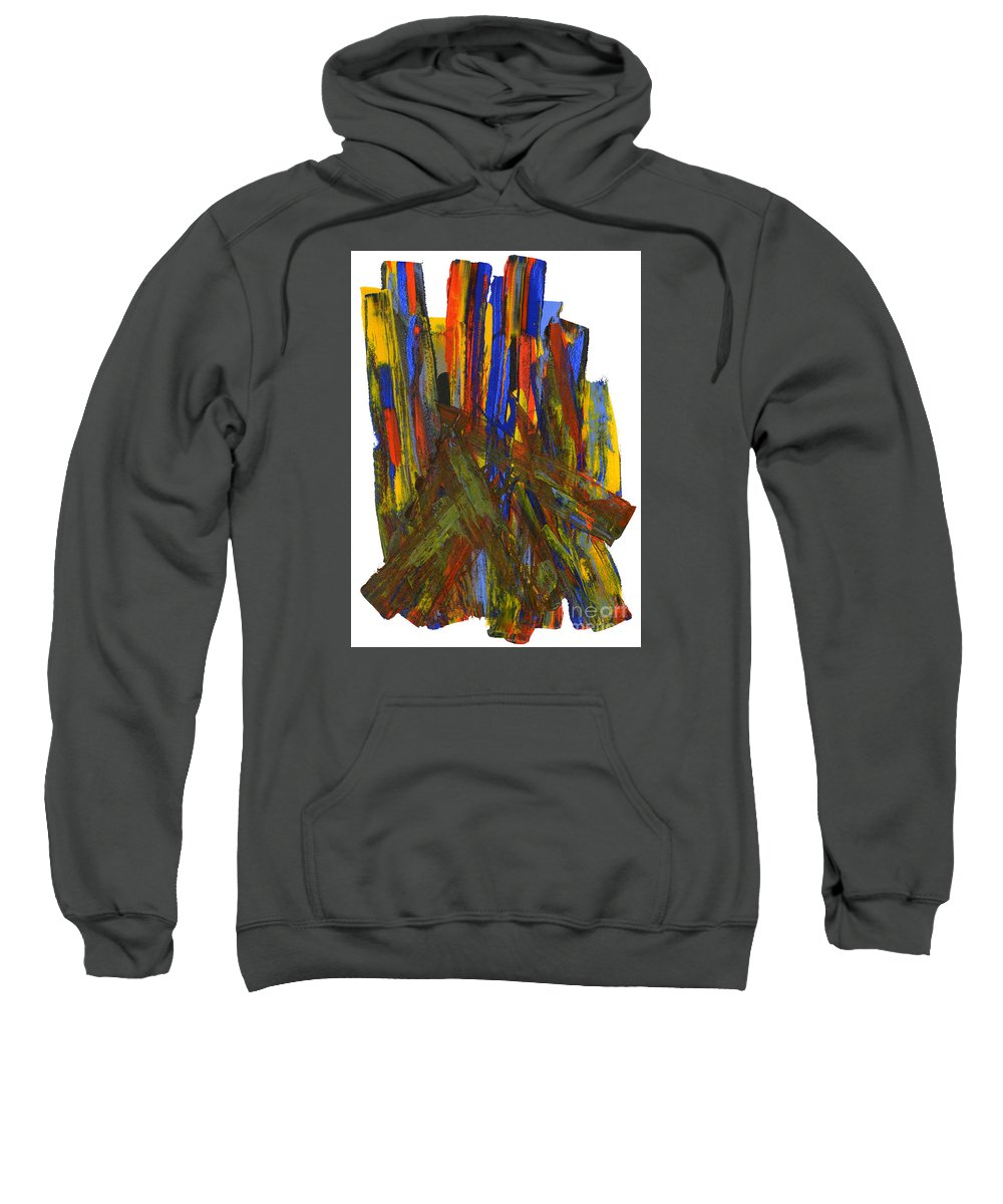 New Life Sweatshirt featuring the painting A New Beginning by Bjorn Sjogren