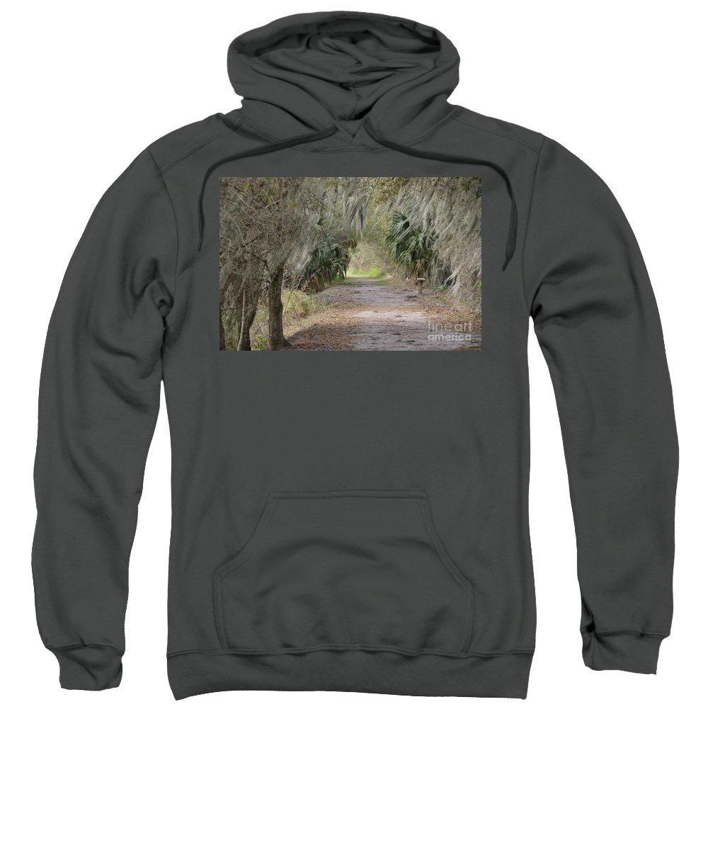 Reserve Sweatshirt featuring the photograph A Peaceful Place by Carol Bradley