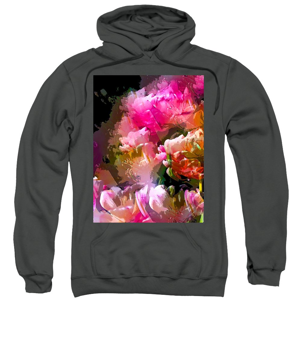 Abstract Sweatshirt featuring the photograph Abstract 272 by Pamela Cooper