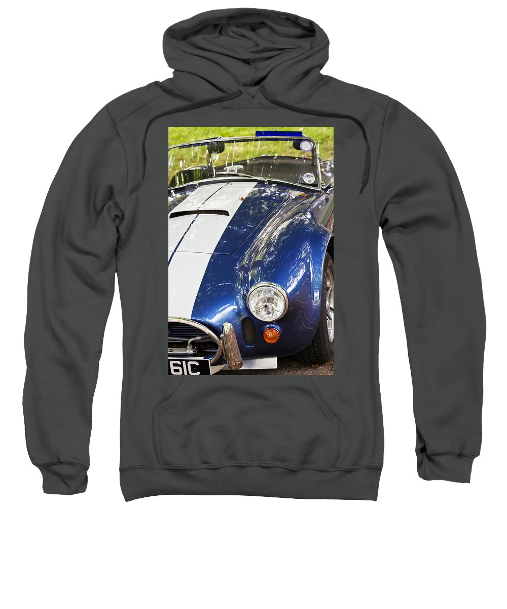 Ac Cobra Sweatshirt featuring the photograph Ac Cobra Shelby by Maj Seda