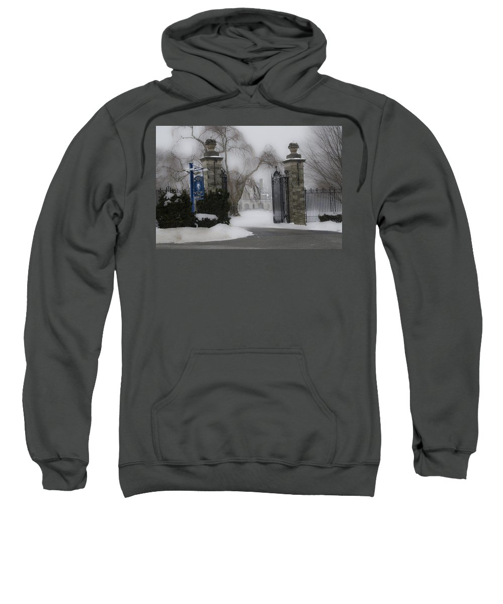 Academy Sweatshirt featuring the photograph Academy Of Notre Dame - School For Girls by Bill Cannon