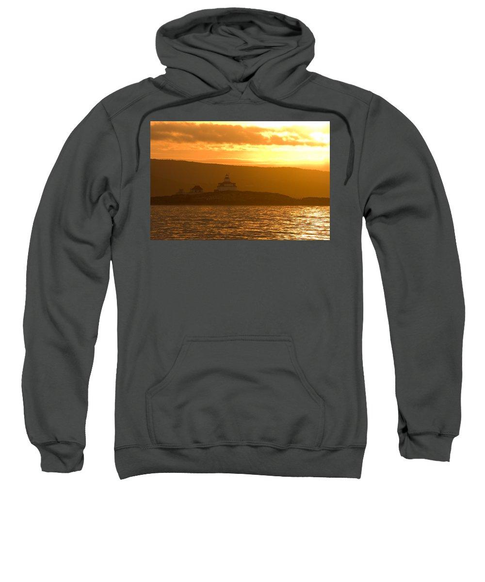 Acadia National Park Sweatshirt featuring the photograph Acadia Lighthouse by Sebastian Musial