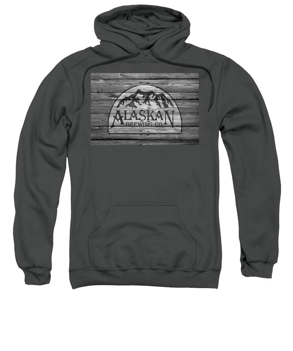 Alaskan Brewing Sweatshirt featuring the photograph Alaskan Brewing by Joe Hamilton