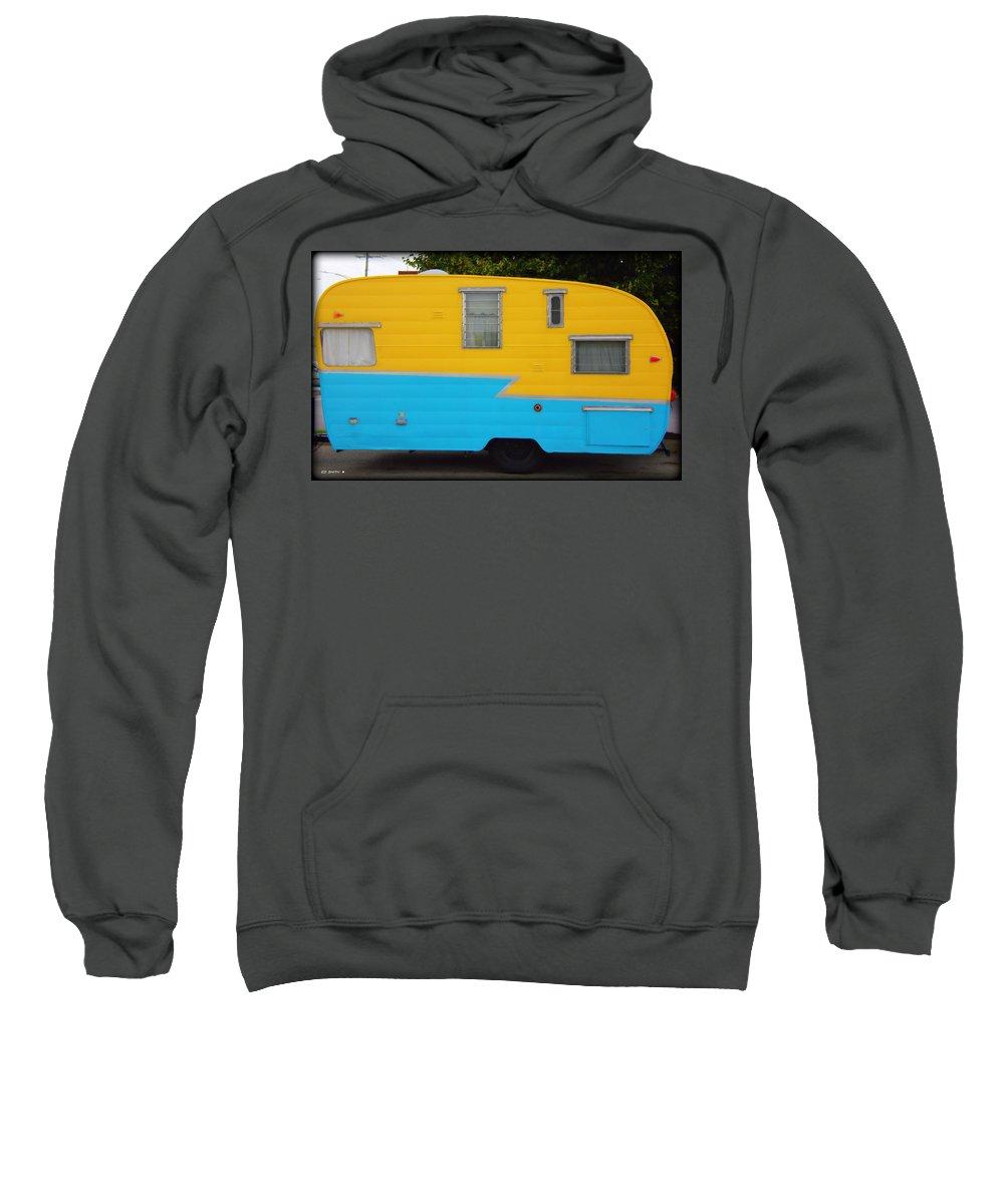 American Camper Series No.1 Sweatshirt featuring the photograph American Camper Series No.1 by Ed Smith